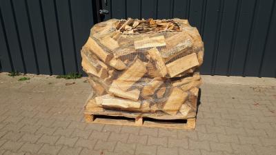 Trockenes Brennholz Buche. Schüttraummeter 25 cm länge